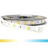1 meter Dual White led strip Basic met 30+30 leds - losse strip