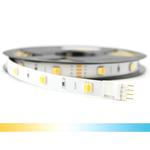 5 meter Dual White led strip Basic met 30+30 leds - losse strip