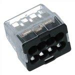 8 draads verbindingsklem 0.5-2.5mm2 voor massief draad - 25 stuks