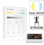 Milight 4-zone Dual White afstandsbediening paneel touch stroom met controller