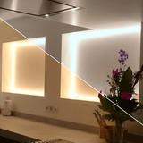 4 meter Dual White led strip Premium met 60+60 leds - losse strip