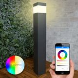 Moderne staande tuinlamp voor buiten met E27 Milight slimme verlichting led lamp