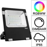 Milight RGBWW led Schijnwerper - bouwlamp 20 Watt IP65