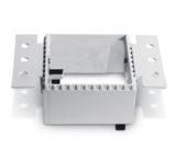 Trimless spot - Aluminium - Wit - GU10 - IP20 - Enkel, zonder reflector