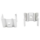 Led strip profiel inbouw Laag model - compleet inclusief afdekkap - 1 meter - 7 mm hoog