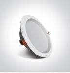 Budget Inbouw spot IP20 - 15W - Warm Wit licht 3000K - Aluminium