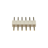 3 x RGBWW stekker 6-pins type man