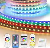 2 meter RGBW led strip complete set - Premium 144 leds