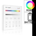 Losse 4-zone RGB/RGBW afstandsbediening paneel touch op batterij