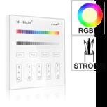 Losse 4-zone RGB/RGBW afstandsbediening paneel touch 230V
