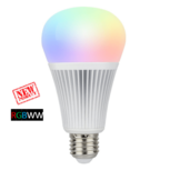 Milight Wifi led lamp RGBWW 9 Watt E27 fitting