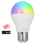 Milight Wifi led lamp RGBWW 6 Watt E27 fitting