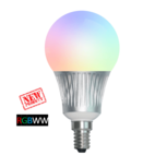 Milight Wifi led lamp RGBWW 5 Watt E14 fitting