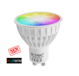Milight Wifi led spot RGBWW 4 Watt GU10 fitting