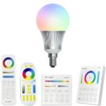 Milight RGBWW Wifi led lamp set met afstandsbediening 5W E14