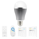 Dual White LED lamp set met afstandsbediening 9W E27