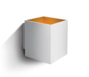 LED Wandarmatuur- G9-Aluminium- wit/goud- VIERKANT