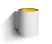 LED Wandarmatuur- G9-Aluminium- wit/goud- ROND