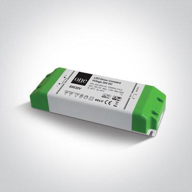 Trafo 24 VDC - 30W - niet dimbaar - constant voltage