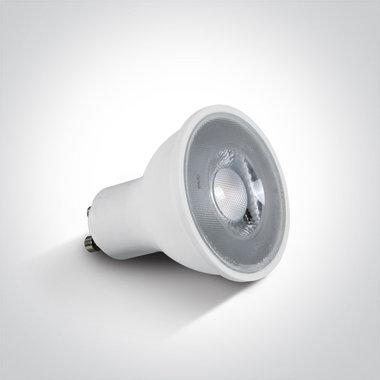 LED lamp 5W - GU10 - Warm wit licht 3000K - niet dimbaar 230V