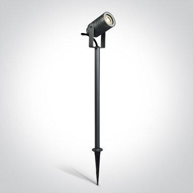Tuin spot - IP65 - 35W - GU10 - 40 cm - Antraciet