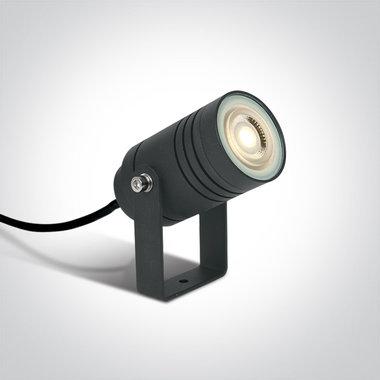 Tuin spot - IP65 - 50W - GU10 - Antraciet