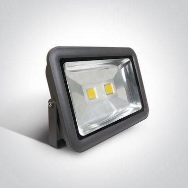 COB LED breedstraler IP65 - 100W Wit licht - Antraciet