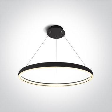 LED Pendant ringlamp-40W-Zwart