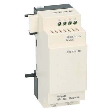 Zelio PLC uitbreiding 6I-O 4in 2uit 24VDC