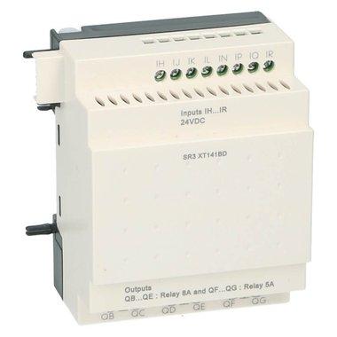 Zelio PLC uitbreiding 10I-O 6 in 4uit 24VDC