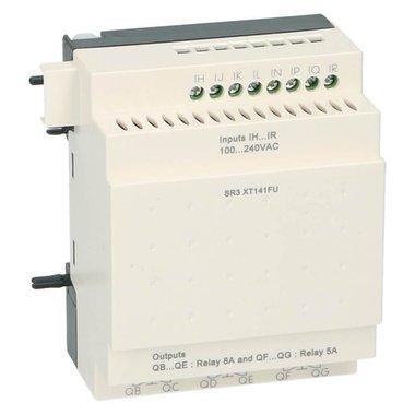 Zelio PLC uitbreiding 14I-O 8in 6uit 100-240VAC