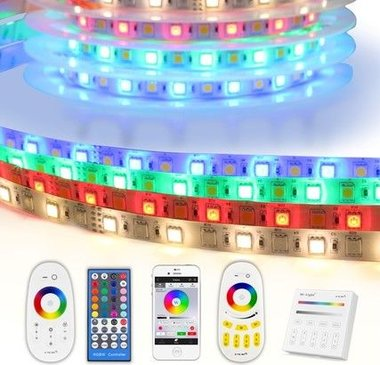 1 meter RGBW led strip complete set - Basic 36 leds