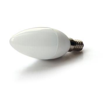 LED lamp 6W SMD LED - E14 - Extra Warm wit - dimbaar