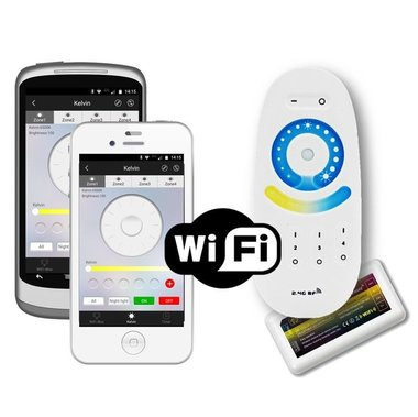 Luxe touch RF 4-zone Dual White set + WIFI