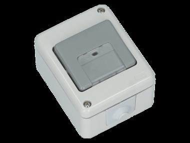 FLUID IP44 2 polige schakelaar