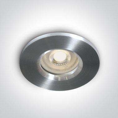 Klassieke inbouwspot behuizing - IP65  50W  GU10 - Aluminium