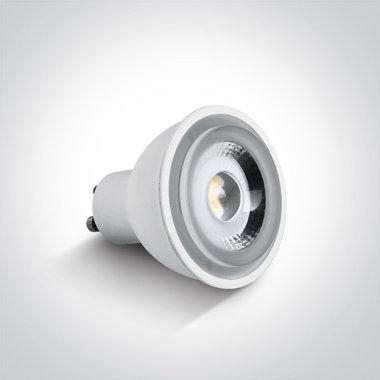 LED lamp - 6W-GU10 - Wit licht 4000K - dimbaar 230V