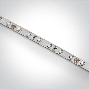 LED strip outdoor 24V - 4,8W/m - Blauw licht - Dimbaar - 5 meter