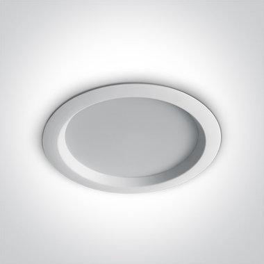 Budget Inbouw spot IP20 - 24W - Warm Wit licht 3000K - Aluminium