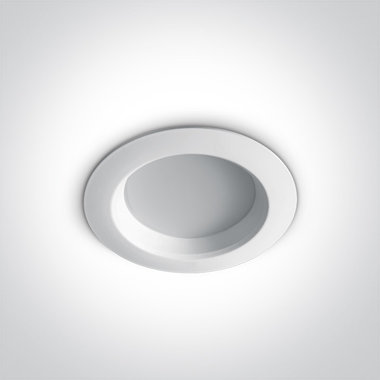 Budget Inbouw spot IP20 - 7W - Warm Wit licht 3000K- Aluminium