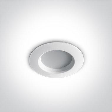 Budget Inbouw spot IP20 - 3W - Warm Wit licht 3000K - Aluminium