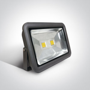 COB LED breedstraler IP65 - 100W Wit licht - Antraciet