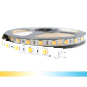 1 meter Dual White led strip Premium met 60+60 leds - losse strip