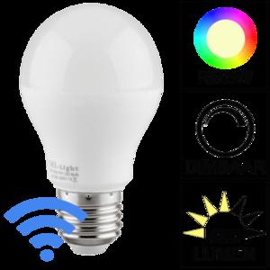 Milight Wifi led lamp RGBW 6 Watt E27 fitting