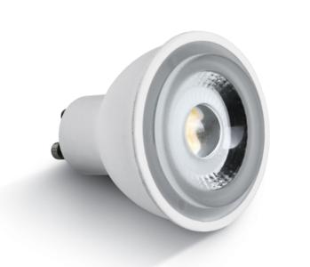 LED lamp 6W - COB LED GU10 - Extra warm wit licht - dimbaar 230V