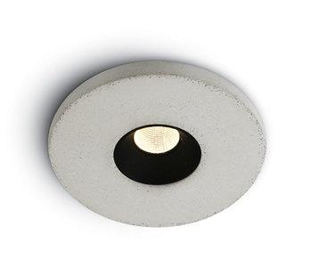 Cement Look inbouwspot ROND-LED 4,5 W compleet