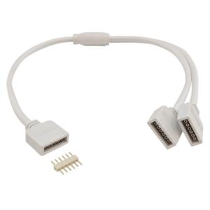 RGBWW led strip splitter kabel in 2 delen