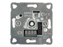 LED Dimmer inbouw  0-100 W - fase af- of aansnijding