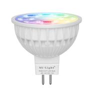Milight led spot RGBWW 4 Watt MR16-GU5.3 fitting 12V